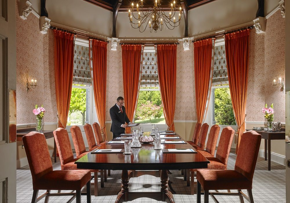 Boardroom at Faithlegg House Hotel Golf Resort