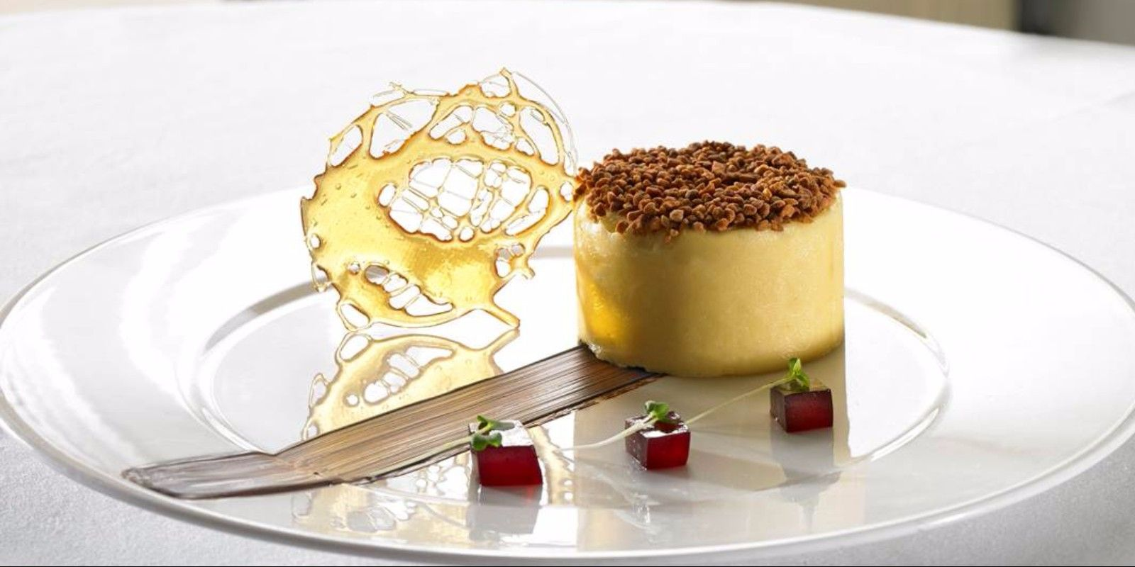 2 Award Winning Restuarant Dessert Faithlegg House Hotel Waterford